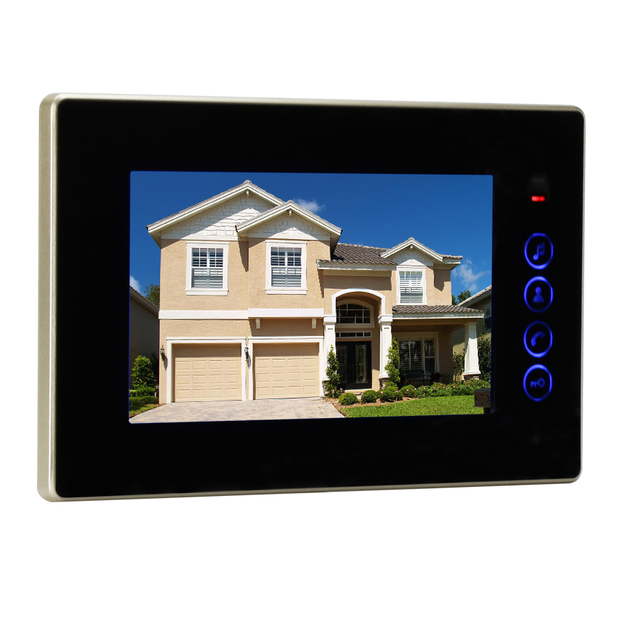 JEX 7 Inch Video Intercom Door Phone System Only Monitor Indoor Unit + Power Adapter FREE SHIPPING 720B