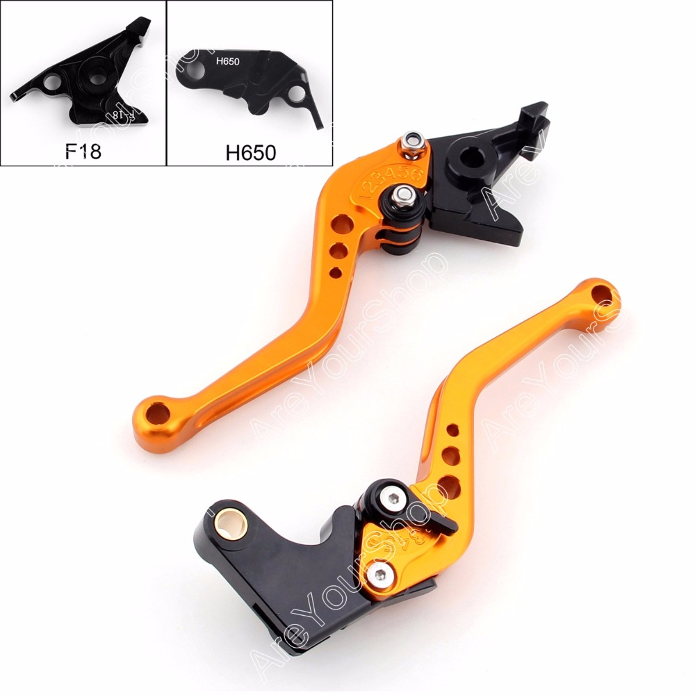 For honda cbr650f cb650f 2014 2015 motorcycle brake clutch levers five colors new arrival motorbike styling brakes parts