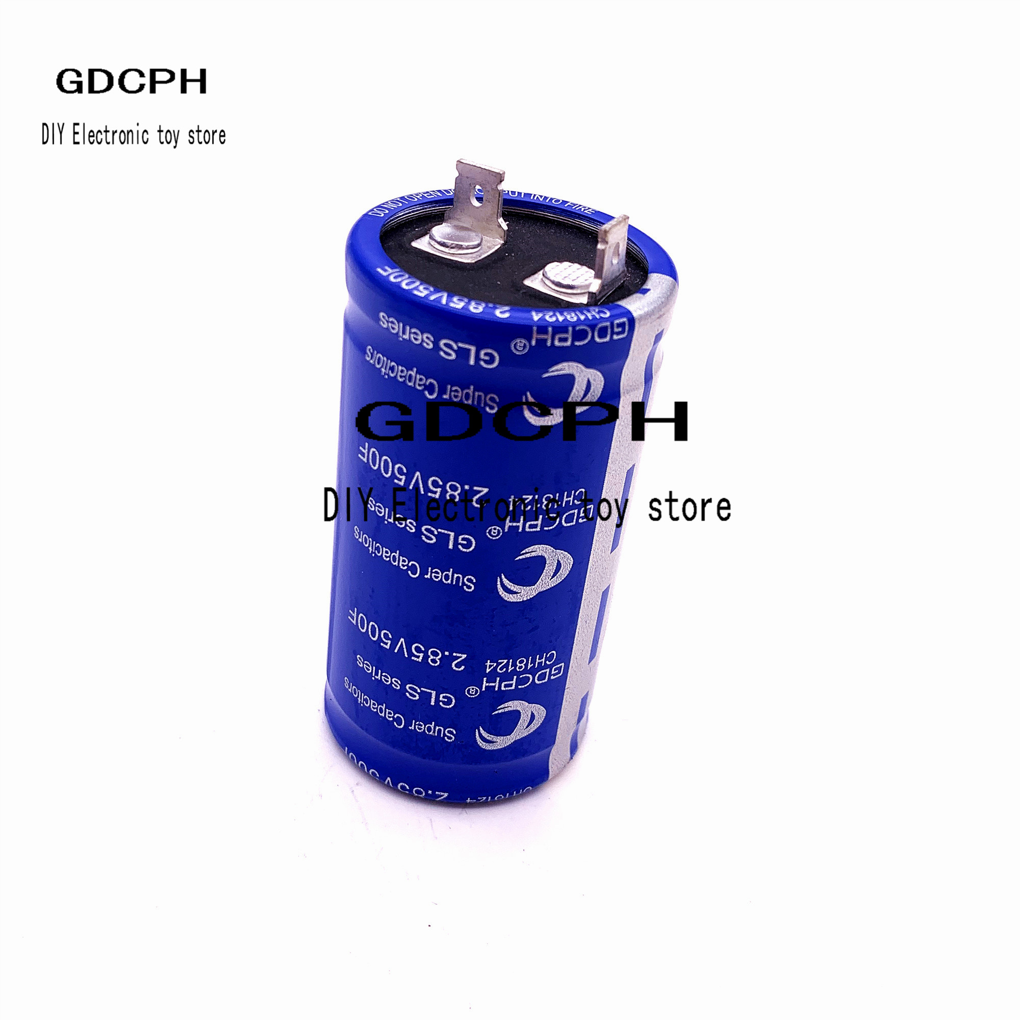 1psc 2.85v500f New Energy Capacitor Automobile Rectifier Capacitor 2.7v500f