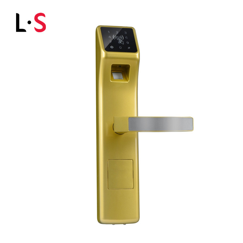 Electronic biometric door lock digital fingerprint for 1 touch fingerprint door lock