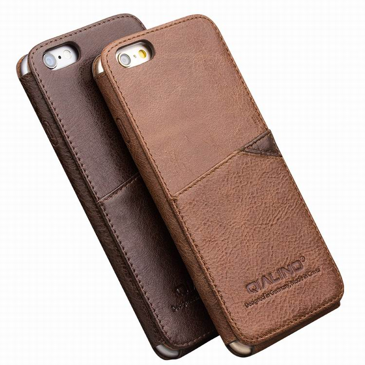 Business Style Luxury Leather Case For Apple Iphone 6 6s 47inch