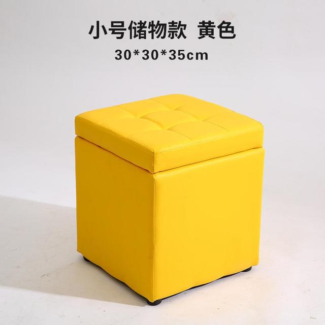 Pleasant Us 49 54 32 Off Leather Folding Organizer Storage Ottoman Bench Footrest Stool Coffee Table Cube Camping Fishing Stool Quick And Easy Assembly In Ncnpc Chair Design For Home Ncnpcorg
