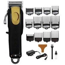 390a68403 Profissional barbeiro kit máquina de cortar cabelo para homens corte de  cabelo máquina de corte de