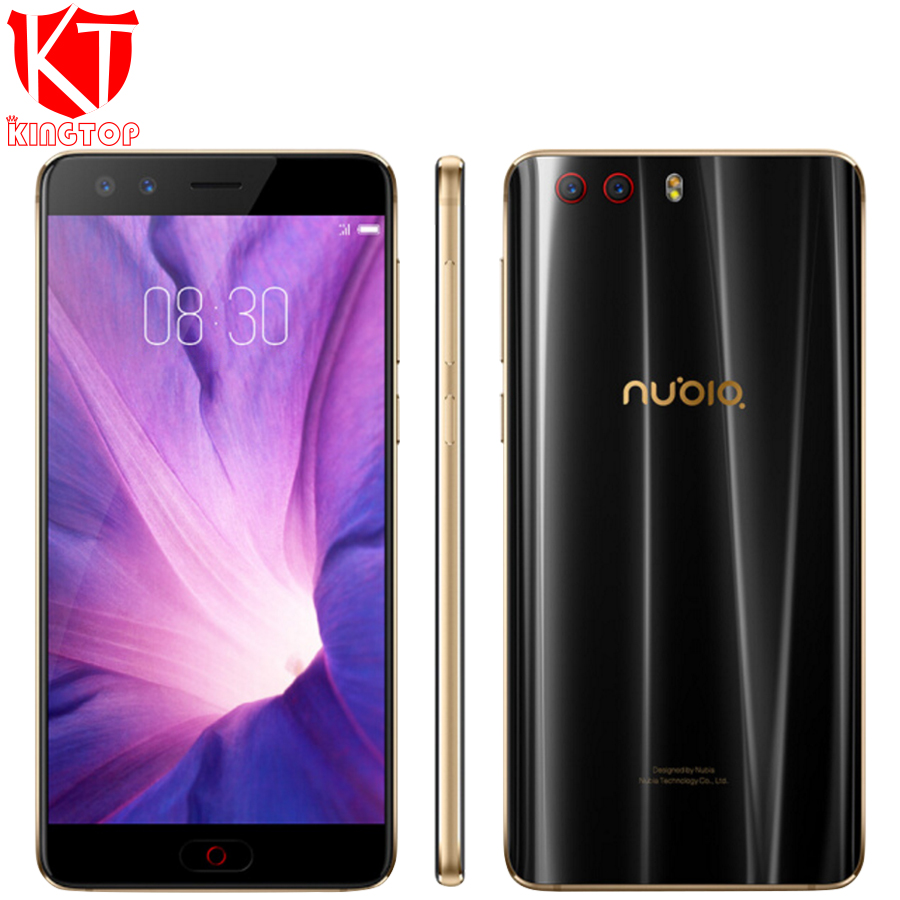 "Original ZTE Nubia Z17 mini S Mobile Phone 6G 64G 5.2"" 1080P Snapdragon 653 Octa Core Dual Front Real Cameras NFC 4G Cell phone"