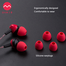 OARIE High Quality Wired 3.5mm Earphones Super Bass headset Stereo Earbuds With Mic For IPhone Samsung Xiaomi MP3 Headphones