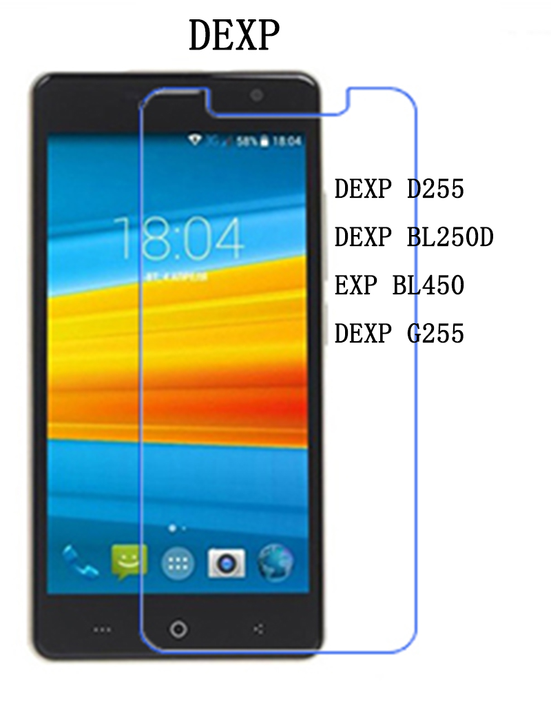 Tempered Glass FOR Senseit E400 E500 A109 <font><b>E510</b></font> A247 T100 A250 Toughened Screen Protector Film Protective Case <font><b>Cover</b></font> image