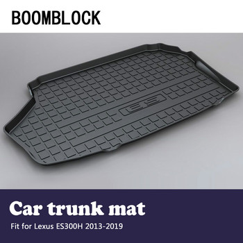 BOOMBLOCK Car Accessories Covers Trunk Mat Cargo Liner For Lexus ES300H XV60 2019 2018 2017 2016-2013