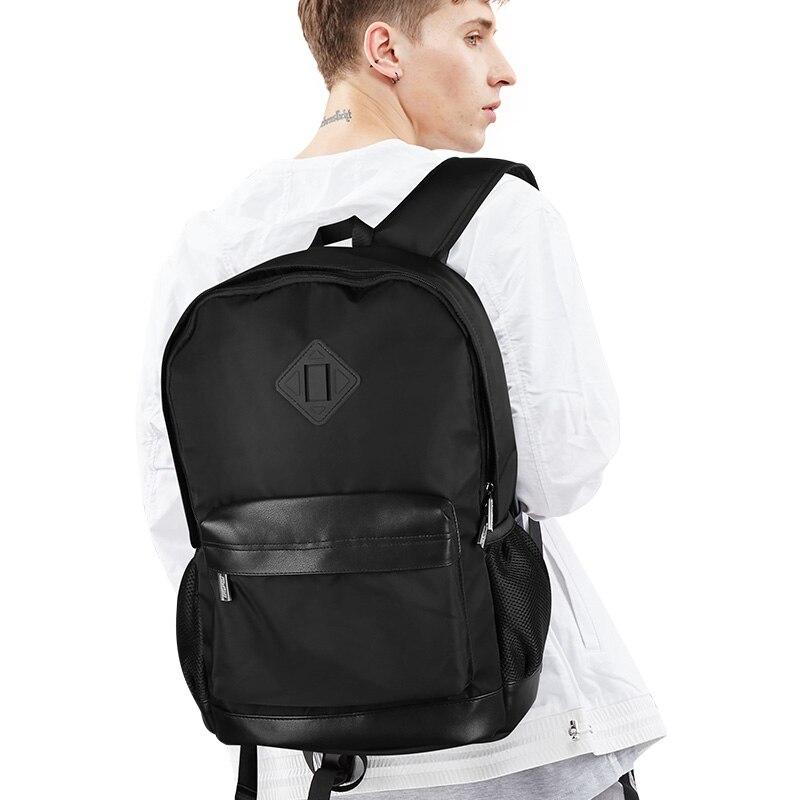 BOPAI Men Backpack Business Mens Travel Backpack Lighweight Black Cool  Backpacks Cheap Small Backpack Bags Waterproof Daypack-in Backpacks from  Luggage ... 9cfbb8ba5a8e