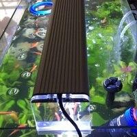 Dimmable 4 rows Led fish tank aquario lamp 2015 new aquarium light plants Aquatic accessories Pet Products High Output light