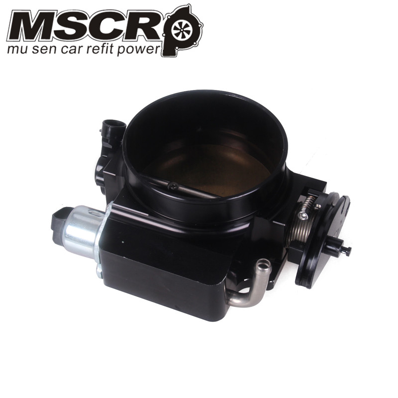 102mm throttle body + TPS IAC Throttle Position Sensor for LSX LS LS1 LS2 LS7 SILVER BLACK