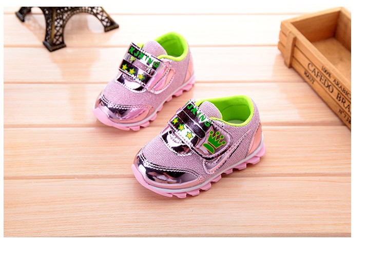 2e41a086e9414 Jordan Baby Shoes Spring Bling Rubber Running Shoes For Boys Girls Kids  Infant Sneakers Yeezy Boost 350 Chaussure Basket Enfant