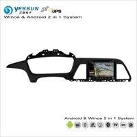 Yessun для Hyundai Sonata YF 2015 ~ 2017 Android навигации Радио CD DVD Navi Географические карты аудио стерео видео GPS плеер Экран Системы