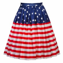 aac5c9e6a7 Buy american flag skirt and get free shipping on AliExpress.com