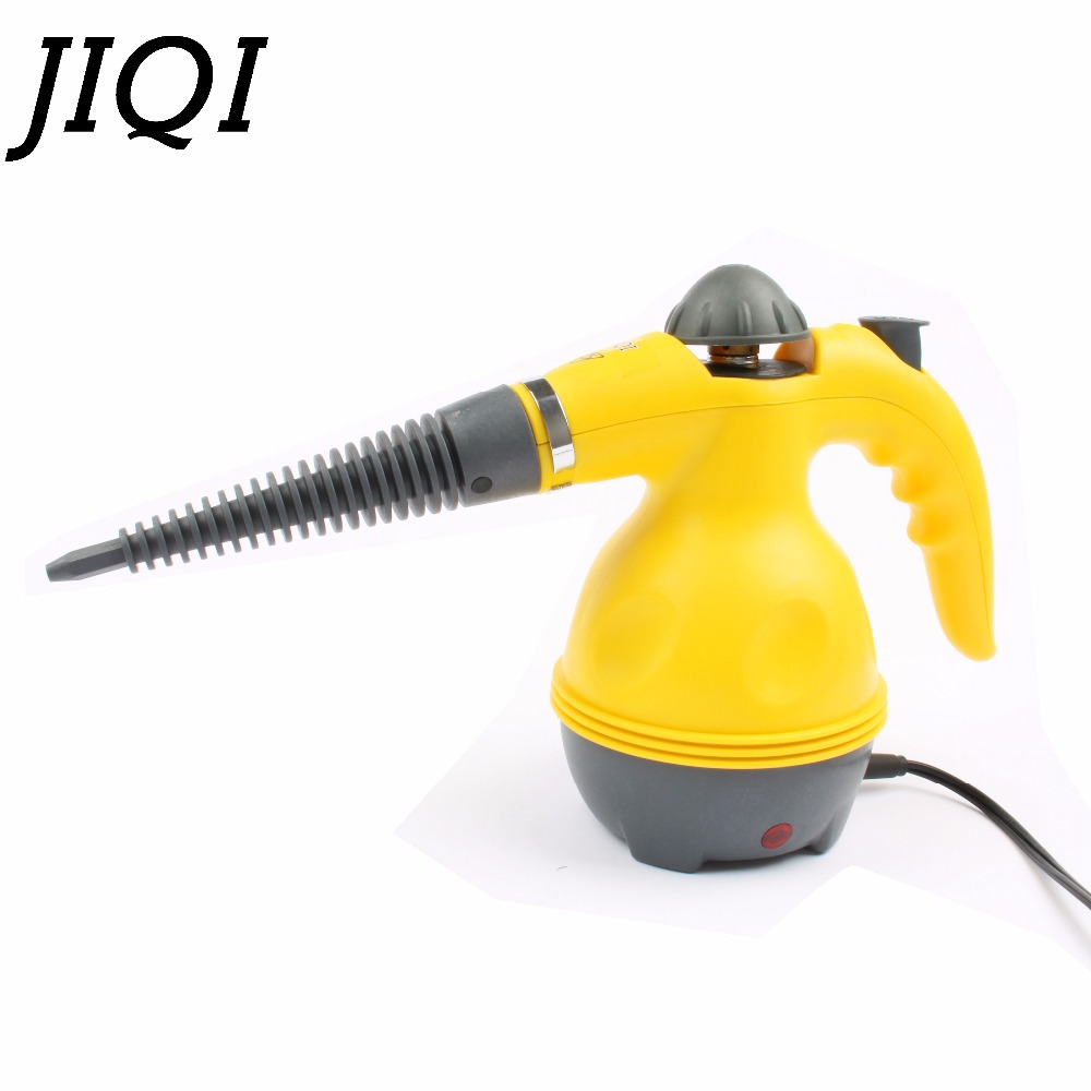 JIQI Household Steam cleaning machine High temperature steam cleaner mop hand held Kitchen Range Hood pressure steamer 110V 220V 1pc household high temperature kitchen bathroom steam cleaning machine handheld high temperature sterilization washing machine