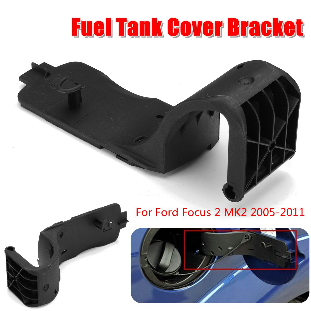 Fuel Tank Gas Tank Cap Cover Mount Bracket Replacement For Ford For Focus 2 MK2 2005 2006 2007 2008 2009 2010 2011