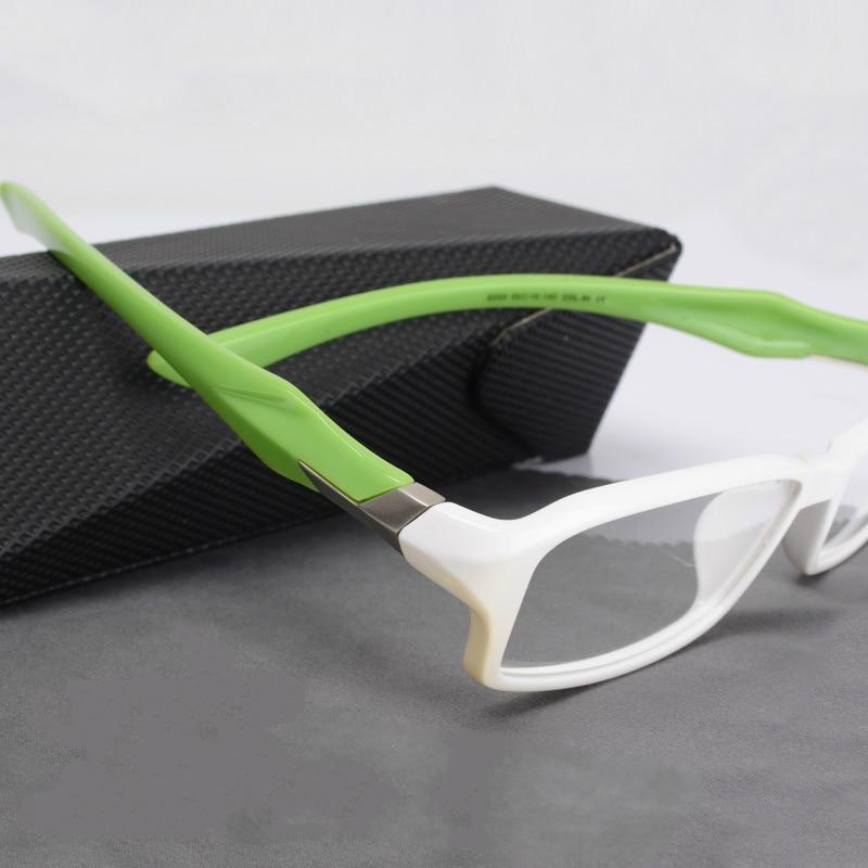 vazrobe customized prescription lenses white sport eye glasses frame for men tr90 eyeglasses frames for male