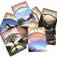 Cartas de oraco tierra mágica: Lee el juego de cartas de destino Tarot para uso Personal juego de mesa A 48 cartas