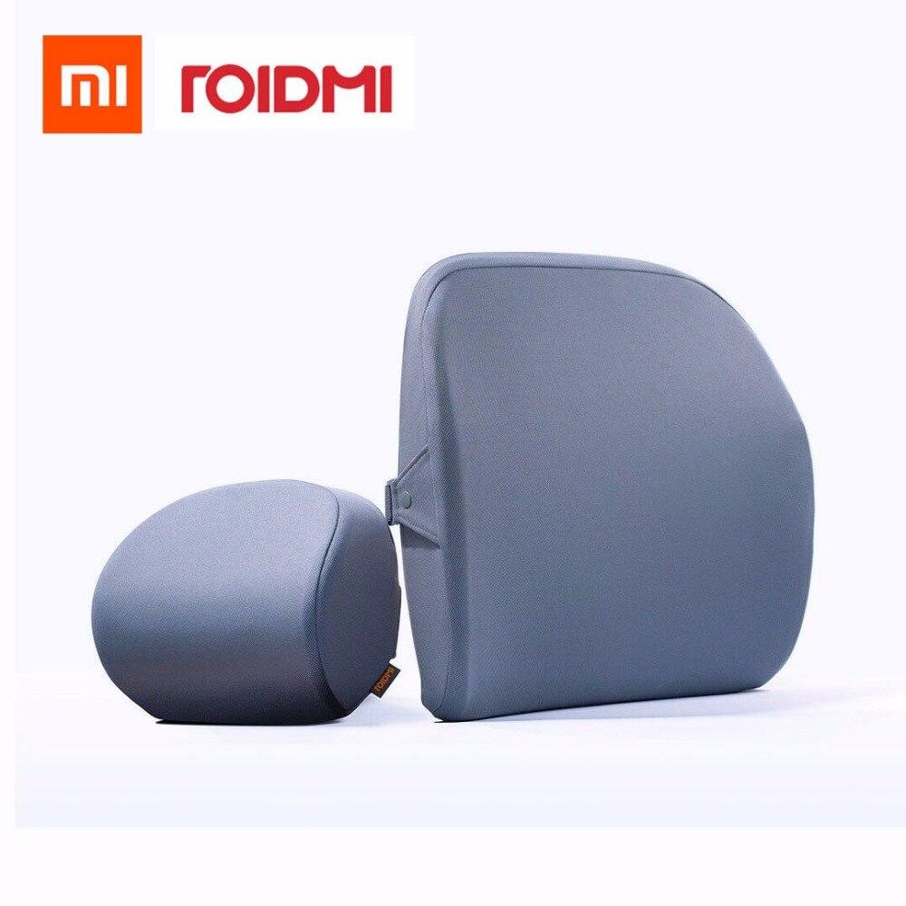 Original xiaomi mijia roidmi R1 auto kopfstütze Kissen diskussion 60D Gefühl speicher baumwolle Für xiaomi smart home kit Büro & Auto