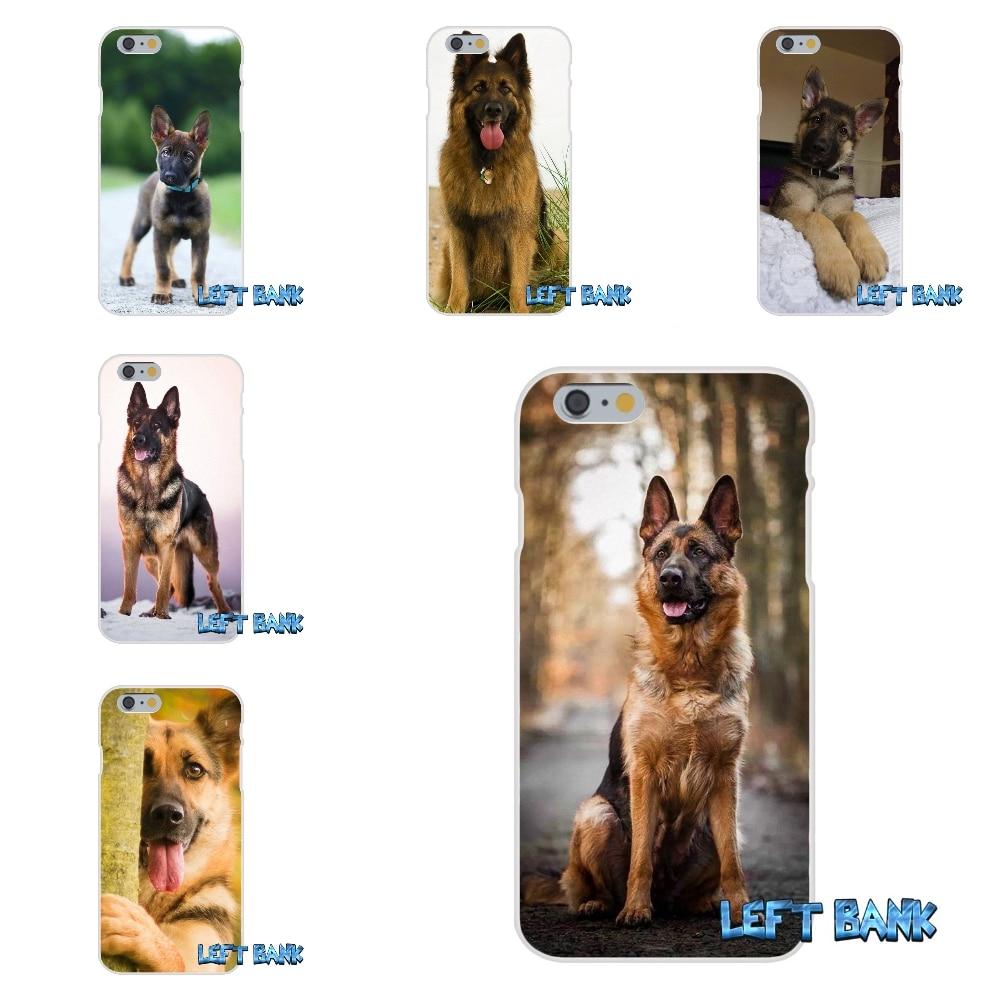 Пособия по немецкому языку овчарка щенок кремния мягкий чехол для телефона HTC один m7 M8 A9 M9 E9 плюс Desire 630 530 626 628 816 820