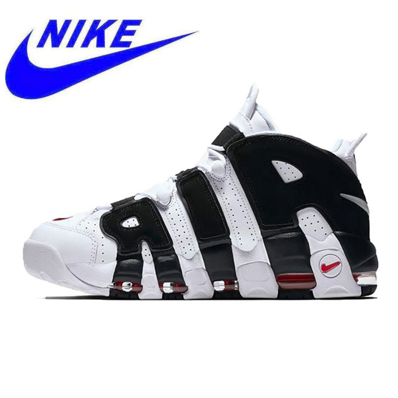 new concept ada68 ac10f קנו נעלי ספורט   Nike Air More Uptempo Men s Basketball Shoes Original New  Arrival Authentic Sports Sneakers Trainers