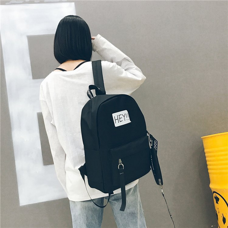 Large Capacity Women Backpack female 2018 Oxford Fashion Black Back Pack School Bag For Teenagers Girls Bagpack mochilas mujer