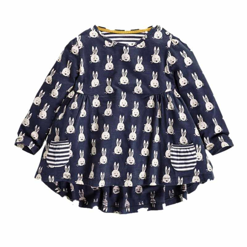 5332a0b781 New Fashion Cartoon Rabbit Pattern Toddler Baby Girl Long Sleeve T Shirt  Tops For 2 Years