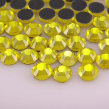 SS6-SS30 1440PCS Hotfix Rhinestones 1.9-6.5mm White Crystals and AB Stones Glue Back Iron on for Clothes Hot
