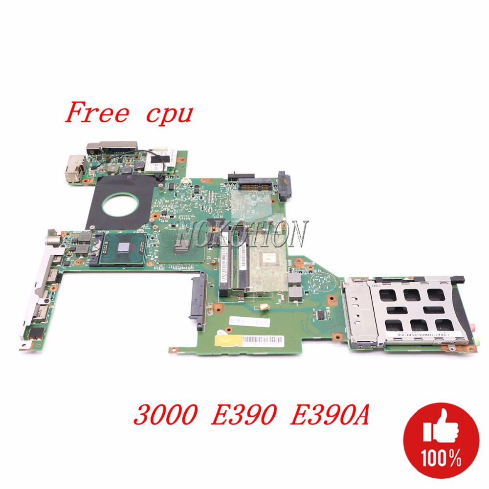 все цены на NOKOTION laptop motherboard For Lenovo 3000 E390 E390A 943GML DDR2 48.4Q801.01N 55.4F901.031 Main board Free cpu full tested онлайн