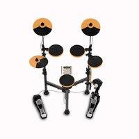 Складной набор электронных барабанов с подставкой для ударных встроенных метрономов 25 групп барабанных тонов 43 группы аккомпанемент MIDI Jack