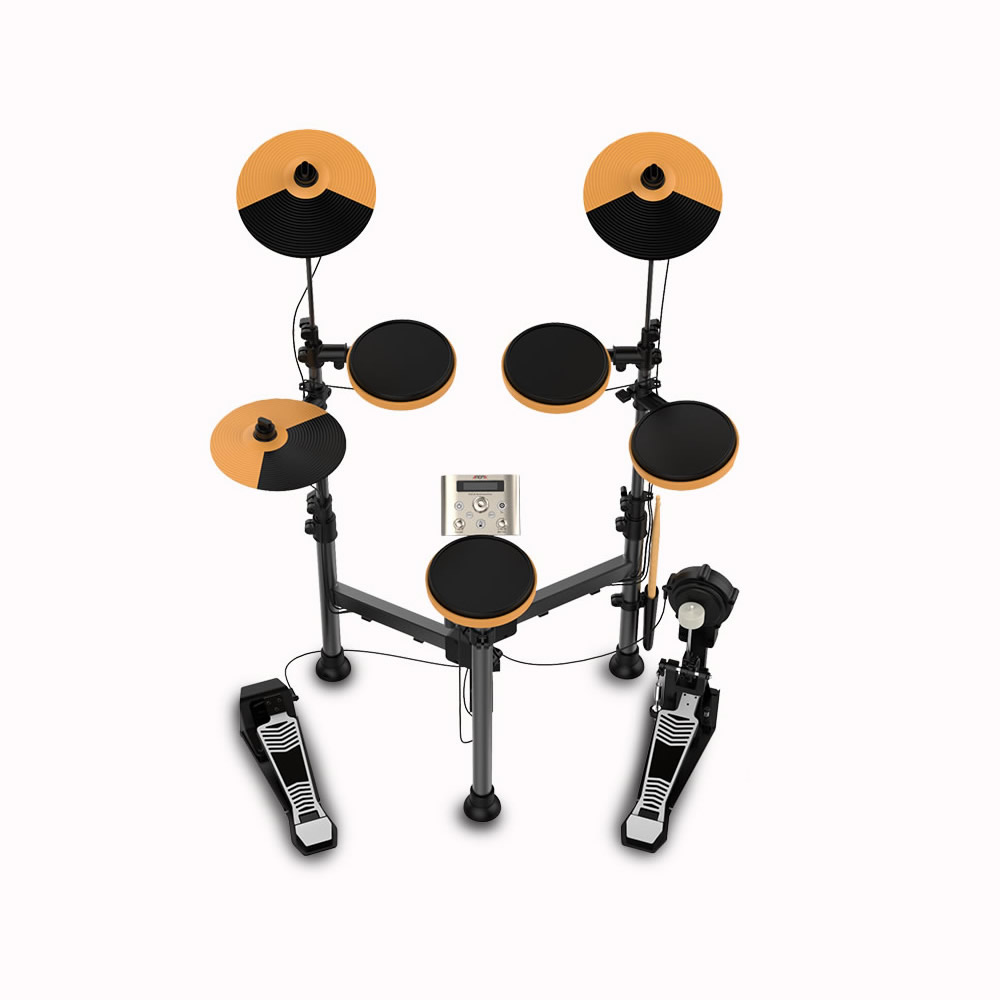 Foldable Electronic Drum Set Kit Stand Percussion Build-in Metronome 25 Groups Drum Tones 43 Groups Accompaniment MIDI Jack new usb midi port portable electronic drum set multi tones easy to use