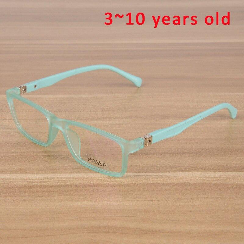 Kinder Brillen Kinder Flexible TR90 Plain Gläser Rahmen Optische ...