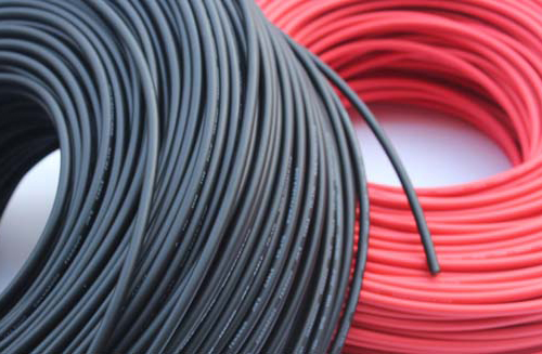 20m/lot (Black Cable 10m+Red Cable 10m) 4mm2 Pv Solar Connector Cable 12AWG Black Or Red TUV Approval Power Cable Mc 4 /MC3 WY