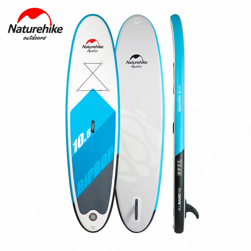 Naturehike Surfboard With Fins Water Sports SUP Inflatable Surfboard Waveboard Professional Water Sports Surfboard NH17B011-C