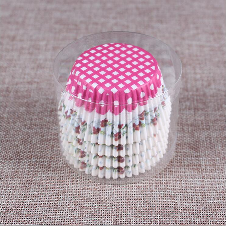 Image 3 - 100PCS Muffins Paper Cupcake Wrappers Baking Cups Cases Muffin Boxes Cake Cup Decorating Tools Kitchen Cake Tools-in Baking Inserts from Home & Garden