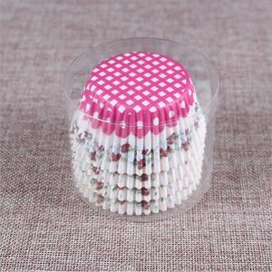 Image 3 - 100PCS 머핀 종이 컵케잌 래퍼 베이킹 컵 케이스 머핀 상자 케이크 컵 장식 도구 주방 케이크 도구