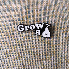 Grow A Pair Pear Pin Roommate BFF Best Friend Badge Brooch Birthday Coworker GiftChina