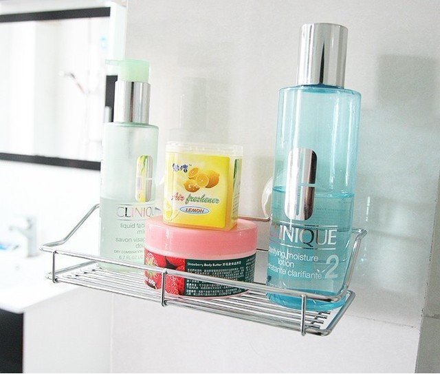 Suction Shower Shelves shower caddy with suction cup suction bathroom rack stainless steel and plastic