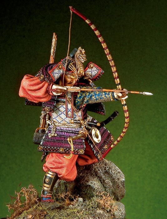 Japanese samurai generals (the late Heian period) 90 mm