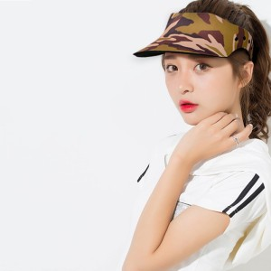 Women Men Summer Visor Cap Sunshade Sweat Absorption Breathable Peaked Sun Hat Sportswear beach caps sun hat