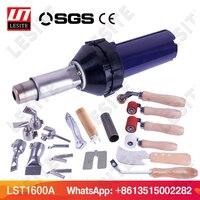 Plastic hot air welding gun torch heat gun pistol vinyl pvc floor welder for PP PE water tank geomembrane sheet LST1600A