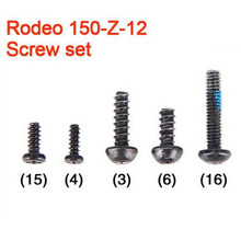 5 Sets/lot Walkera Rodeo 150 RC Quadcopter Spare Part Screw Set Rodeo 150-Z-12