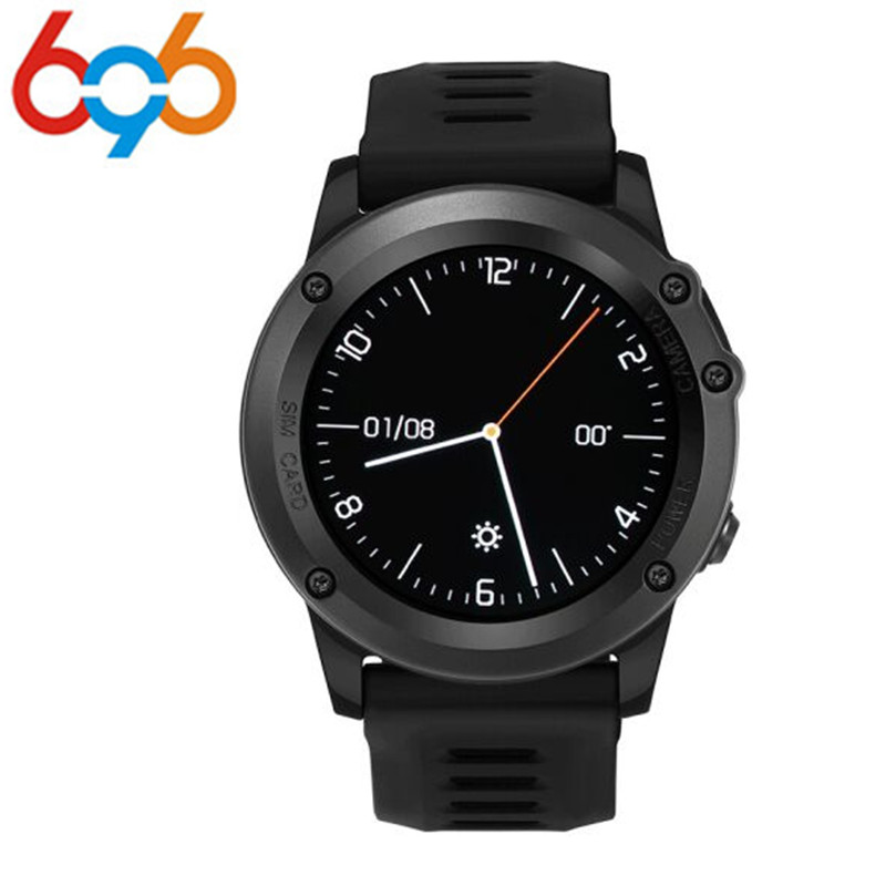 696 H1 android 4.4 Smart watch waterproof android 1.39inch mtk6572 SmartWatch phone support 3G wifi GPS nano SIM GSM WCDMA interpad dm98 smart watch big screen 2 2 inch ips hd huge 900mah battery android phone clock support gps wifi sim smartwatch