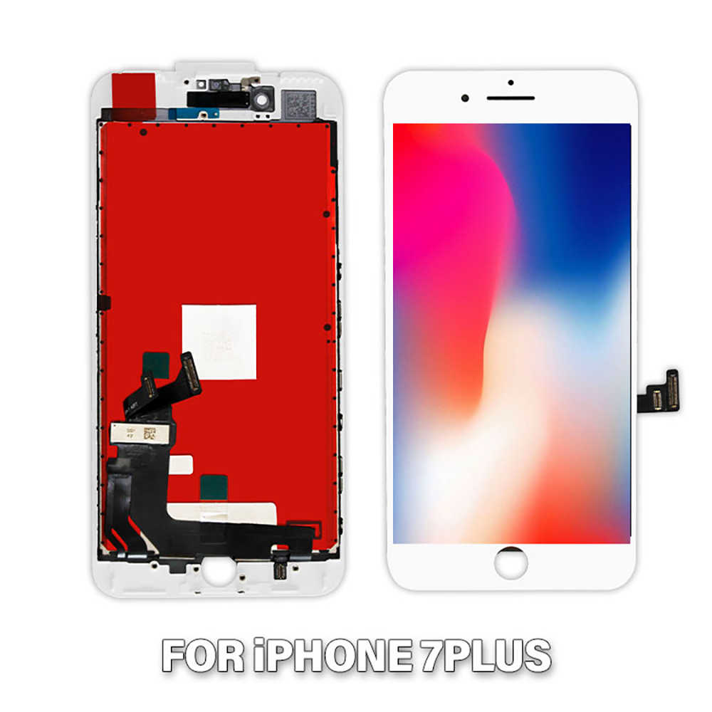 AAAAA LCD Display For iPhone 7 Plus 5.5'' LCD Touch Screen Digitizer For iPhone 7Plus A1661 A1784 A1785 LCD Screen Assembly+Gift