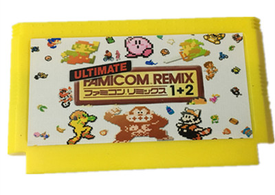 The Ultimate Remix 154 in 1 FC60Pins game Cart E@rthbound FinalFantasy123 Faxanadu TheZeld@12 Megaman123456 Turtles Kirby's