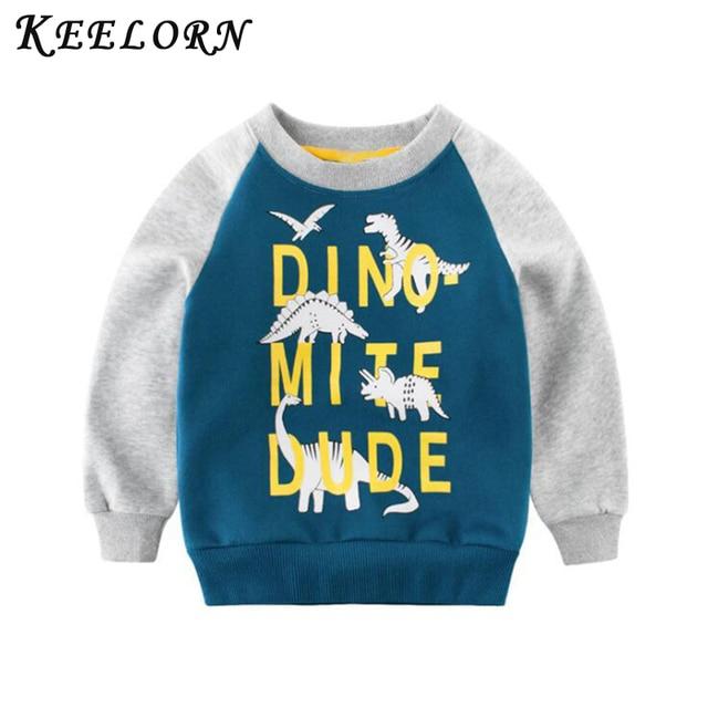 Keelorn ילדים בגדי 2019 חדש אביב סתיו תינוק בני בנות בגדי כותנה ברדס סווטשירט ילדים של ילדים מקרית ספורט