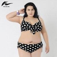 Plus Size 6XL Comfortable Fat Swimwear Swimsuit Sexy Girl Big Size Hot Push Up Bikini Large Size Bikinis Set