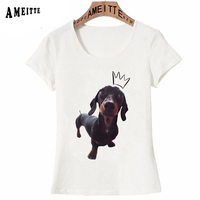 adorable-dachshund-sausage-dog-the-prince-with-a-crown-t-shirt-summer-women-t-shirt-best-friend-dog-casual-tees-cute-girl-tops