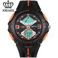 SMAEL Fashion Men Watches LED Digital Quartz Watch Mens Sport Multifunctional Waterproof Electronic Male Wristwatches For Boy