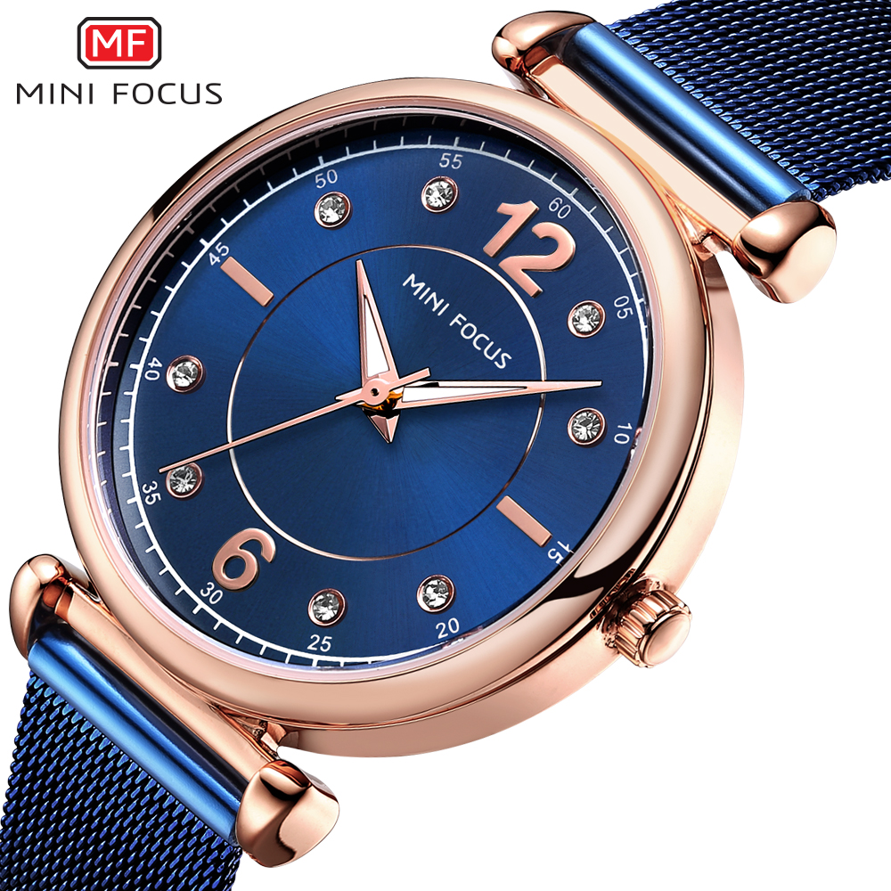 Top Luxury Brand Blue Wrist Watch Women Watches Luxury Brand Steel Ladies Quartz Women Watches Relogio Feminino Montre Femme reloj mujer 2017 watch top brand luxury ladies watches womens quartz wrist watch waterproof clock women hours relogio feminino
