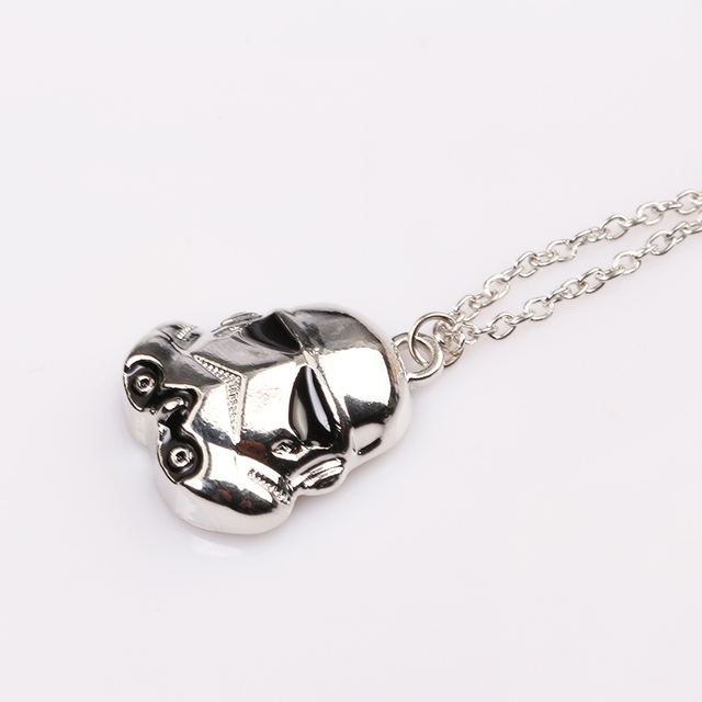 Star Wars Stormtrooper Pendant Necklace Jewelry